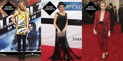 <p>Miller's style has always been consistently interesting, which is high praise for someone who walks as many red carpets as she does. But in 2015, she aimed even higher and reinvented herself as high-octane Fashion It Girl, from her previous Boho/Quirky It Girl.  </p>