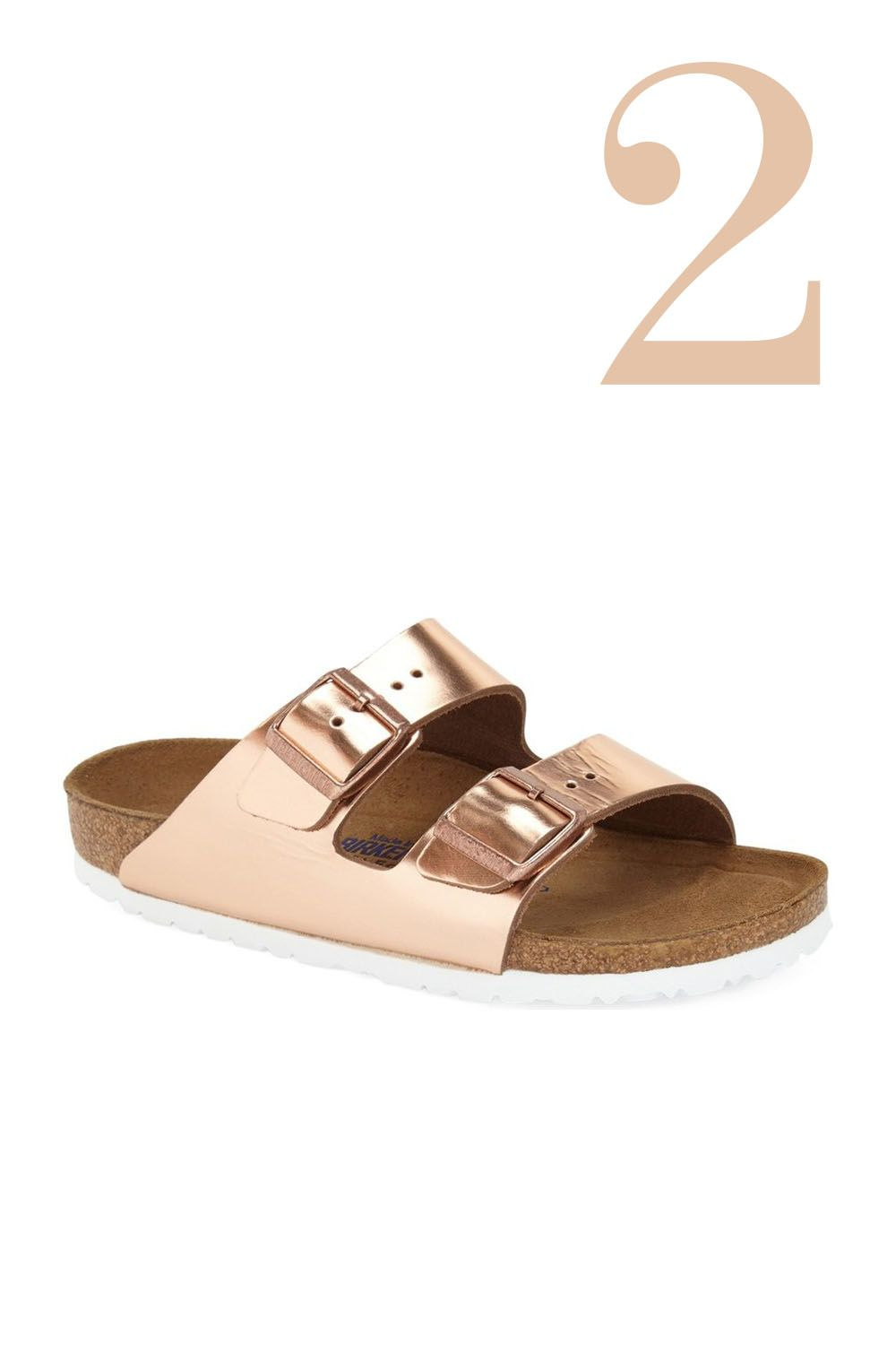 "<p>Yes, we're still obsessed with Birkenstocks—and will be forever because they feel <em>that</em><span class=""redactor-invisible-space""> good on your arches. </span></p><p><em><br></em></p><p><span class=""redactor-invisible-space""></span><em>Birkenstock 'Arizona' Soft Footbed Sandal, $135; </em><a href=""http://shop.nordstrom.com/s/birkenstock-arizona-soft-footbed-sandal-women/2895195?&cm_mmc=Mindshare_Nordstrom-_-JuneShoes-_-Hearst-_-proactive"" target=""_blank""><em>nordstrom.com</em></a></p><p><a href=""http://shop.nordstrom.com/s/birkenstock-arizona-soft-footbed-sandal-women/2895195?origin=keywordsearch-personalizedsort&fashioncolor=SILVER%20METALLIC%20LEATHER"" target=""_blank""></a></p>"