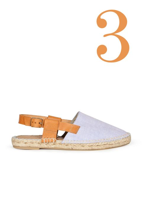 "<p>Every girl needs a pair of espadrilles to summer-ize her wardrobe.</p><p><em><br></em></p><p><em>Matt Bernson Toro Espadrilles, $129; </em><a href=""http://mattbernson.com/collections/spring-2016/products/toro-chambray"" target=""_blank""><em>mattbernson.com</em></a></p><p><a href=""http://mattbernson.com/collections/spring-2016/products/toro-chambray"" target=""_blank""></a></p>"