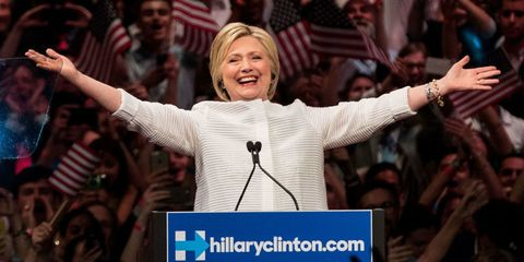 Watch Hillary Clinton's Historic, Inspiring, Chill-Inducing Speech After Becoming the First Official Female Presidential Candidate