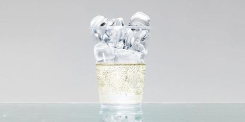 Liquid, Drinkware, Fluid, Glass, Ice, Highball glass, Transparent material, Ice cube, Tumbler, Mason jar,