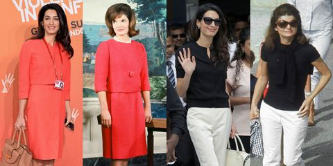 14 Photos That Prove Amal Clooney Is Jackie Kennedy Incarnate