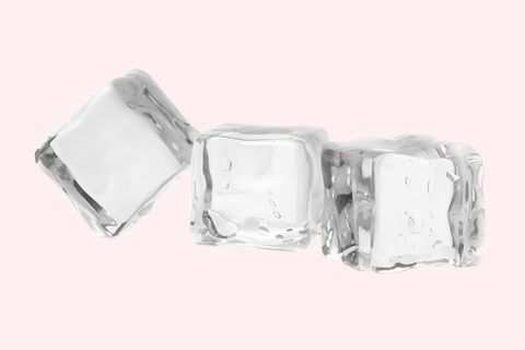 <p>Overactive sebaceous glands? Hold ice (on its own or wrapped in tissue or muslin) over concentrated areas of your T-zone for 30 seconds at a time. This shrinks pores, which not only makes the skin look smoother and clearer, but keeps oil and dirt out. </p>