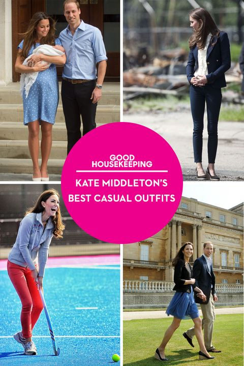 Kate Middleton Casual Outfits