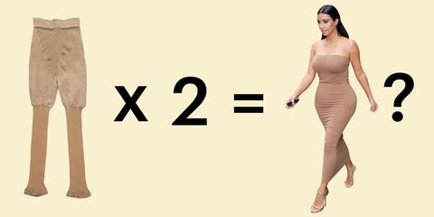 2bade7fddef Here s What Happens When a Real Woman Wears Kim Kardashian s Body Shapers.