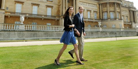 Kate Middleton in casual cloth