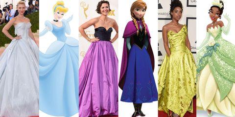 celebs as disney princesses
