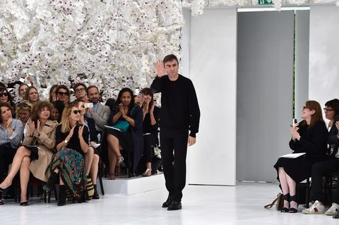 <p>Next, there's Raf Simons, who killed the menswear game recently but is still otherwise homeless after his departure from Dior in October. Some predicted he'd return to the scene of the futuristic-floral crime, but that seems as unlikely as ever now.</p>