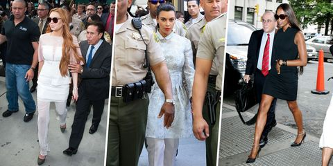 What 36 Celebrities Wore to Court