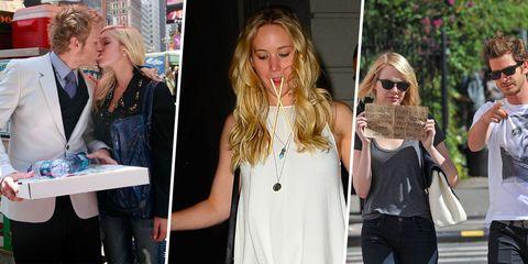 Hair, Eyewear, Arm, Sunglasses, Fashion accessory, Denim, Street fashion, Fashion, Blond, Necklace,