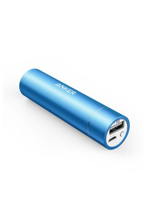 "<p><strong></strong></p><p>A small, but powerful charger the size of a standard lipstick tube.<strong></strong></p><p><strong>Anker Powercore + Mini 3350 mAh, $16; <a href=""https://www.amazon.com/Anker-PowerCore-Lipstick-Sized-Generation-High-Quality/dp/B005X1Y7I2/ref=sr_1_4?s=wireless&ie=UTF8&qid=1467394556&sr=1-4&keywords=portable+charger"">amazon.com</a></strong><strong>.</strong></p>"
