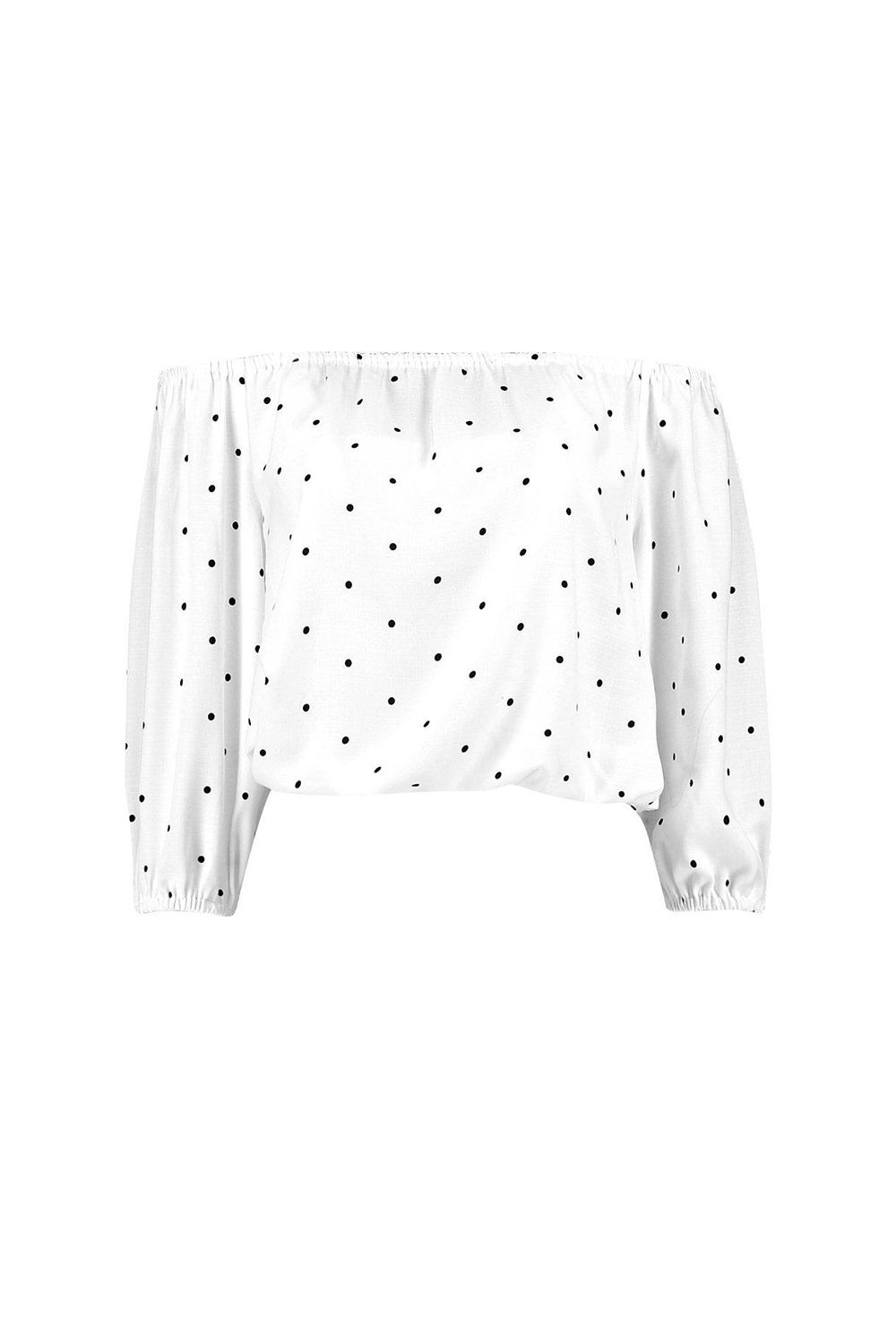 """<p>On the other hand, the sleeves and bodice on this one are blouse-y enough to make raising your arms not excruciating. You could even wear it under a jacket, which is a BFD if you've ever had the neckline ride up uncomfortably around your ears. </p><p>$26, <a href=""""http://rstyle.me/n/btwqk5bqb8f"""" target=""""_blank"""">boohoo.com</a>.</p>"""