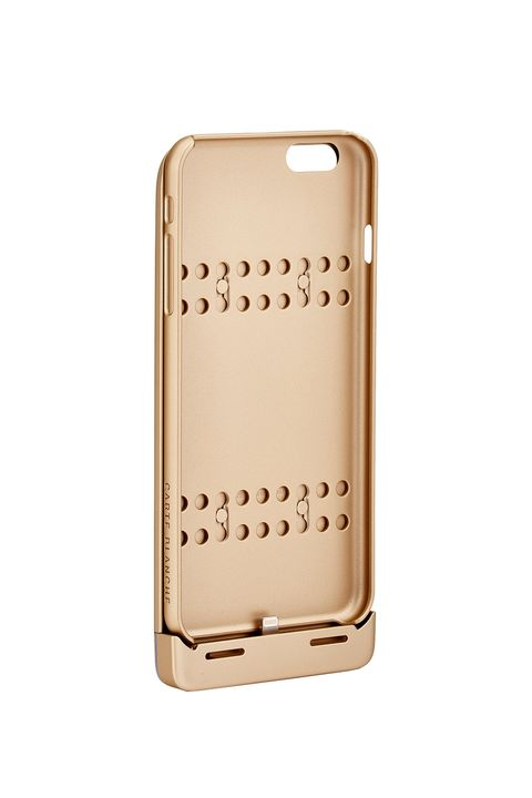 """<p>The dream in phone case form: one that powers up your phone and saves it from cracks should you drop it. </p><p><strong>Boostcase iPhone 6 Plus Hybrid Power Case, $100; <a href=""""https://www.amazon.com/AmazonBasics-Portable-Power-Bank-100/dp/B00ZQ4JQAA?ie=UTF8&ascsubtag=WC67037&linkCode=xm2&tag=thewire06-20"""">amazon.com</a>. </strong></p>"""