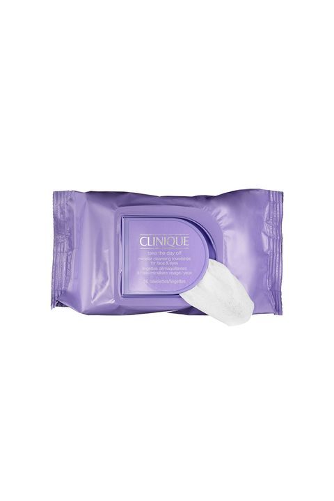 "<p>You know you gotta. No one's woken up regretting having taken her makeup off the night before, but if you can't stay upright long enough for the sink, these gentle (but strong enough for your mascara) wipes are a fine substitute. </p><p><br><br> Clinique Take the Day Off Micellar Cleansing Towelettes, $14, <a href=""http://rstyle.me/n/btj5e2bqb8f"" target=""_blank"">sephora.com</a>.</p>"
