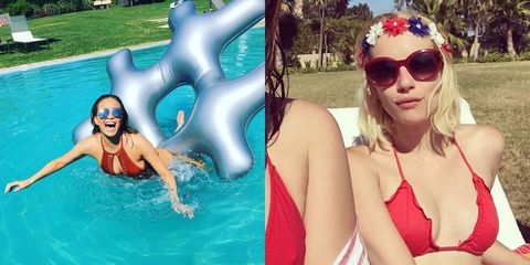 How Celebrities Spent the 4th of July Weekend