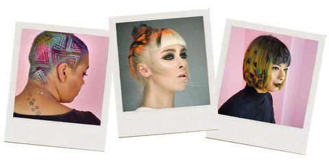 Head, Ear, Cheek, Hairstyle, Chin, Forehead, Eyebrow, Style, Hair accessory, Organ,