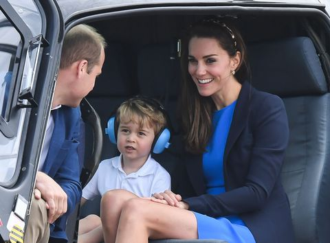 Prince George Takes a Helicopter Ride, Throws a Tantrum