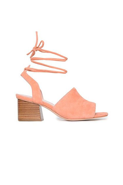 "<p>If these block heels can <a href=""https://www.facebook.com/MarieClaire/videos/vl.1716601968623680/10154176809310127/?type=1"" target=""_blank"">last through a Tinder date a live Facebook audience dressed me for</a>, they can survive anything. Trust. </p><p>$173, <a href=""http://askacollection.com/collections/all/products/rumor?variant=15902598790"" target=""_blank"">askacollection.com</a>.</p>"