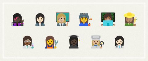 New feminist emojis