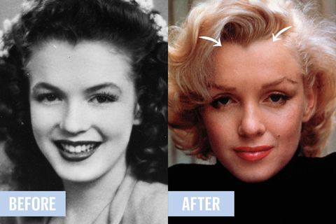 Old Hollywood Plastic Surgery Secrets Marilyn Monroe