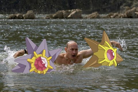 <p>#TBT to when everyone endlessly mocked Putin's shirtless pics, but clearly he was just trying to double fist a Staryu and a Starmie.</p>