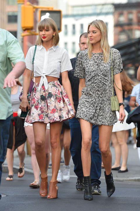 Clothing, Footwear, Leg, Human leg, Outerwear, Style, Pattern, Street fashion, Thigh, Fashion,