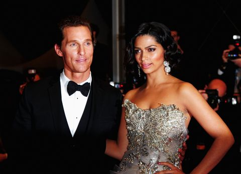 """<p>Guy Fieri did their reception, which is a random but important point we need to make. As for the vows? <a href=""""http://www.usmagazine.com/celebrity-news/news/matthew-mcconaughey-and-camila-alves-three-day-wedding-extravaganza-all-the-details-2012116"""" target=""""_blank"""">According to <em>Us Weekly</em></a>, the couple went all <em>Lost in Translation</em> and whispered them into each other's ears. BUT WE WANT TO KNOW. </p>"""