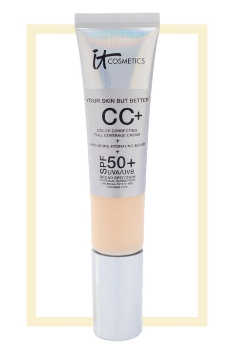 "<p>CC and BB cream enthusiasts, look no further than this light, dewy, and skin-tone evening formula. It's hard to believe it when you're warming it up between your fingers, but it does indeed have SPF 50 broad spectrum mineral sunscreen that wards off burns and damage. Oh, and if you're a sucker for exotic ingredients, it's got a moisturizing snail secretion filtrate in it, too.</p><p><br></p><p><strong>It Cosmetics Your Skin But Better CC Cream with SPF 50+, $38; <a href=""http://bit.ly/29yGHrB"" target=""_blank"">ulta.com</a>.</strong></p><p><br></p>"