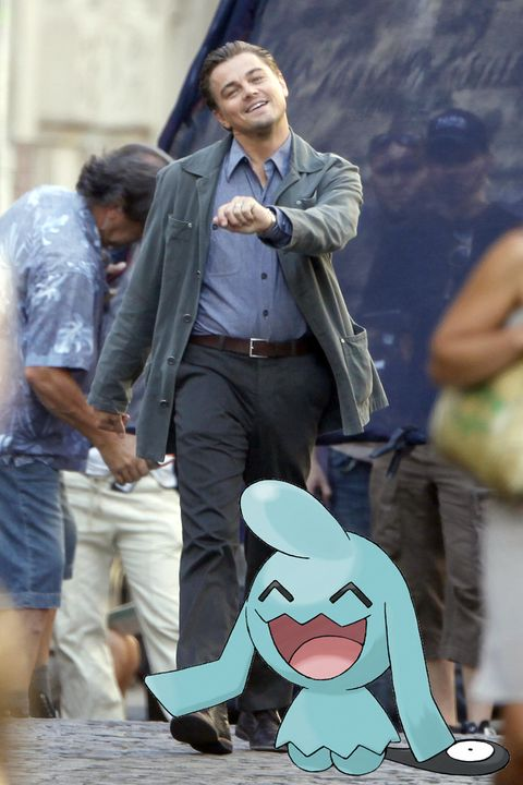 <p>When your facial expression matches that of the Pokémon you're chasing.<span></span></p>