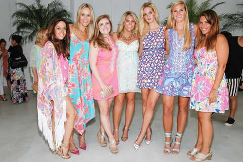 Clothing, Footwear, Smile, People, Dress, Social group, Style, One-piece garment, Fashion, Beauty,