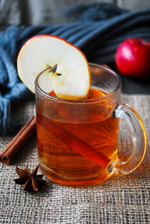 "<p>A <a href=""http://www.abeautifulmess.com/2012/11/spiked-maple-apple-cider-recipe.html"" target=""_blank"">sweeter drink</a> to sip on for dessert. </p><p><strong>Ingredients:</strong></p><p>5 cups Apple Cider</p><p>2 shots Maple Flavored Whiskey</p><p>2 shots Apple Liqueur (recommended: Thatcher's)</p><p>4 Cinnamon Sticks</p><p>1/2 Apple (sliced)</p><p>1/2 cups of Orange Juice</p><p><strong>Directions: </strong></p><p>Combine in a teapot and serve. </p>"
