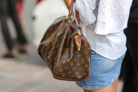 Brown, Denim, Textile, Bag, Style, Street fashion, Fashion, Tan, Pocket, Shoulder bag,