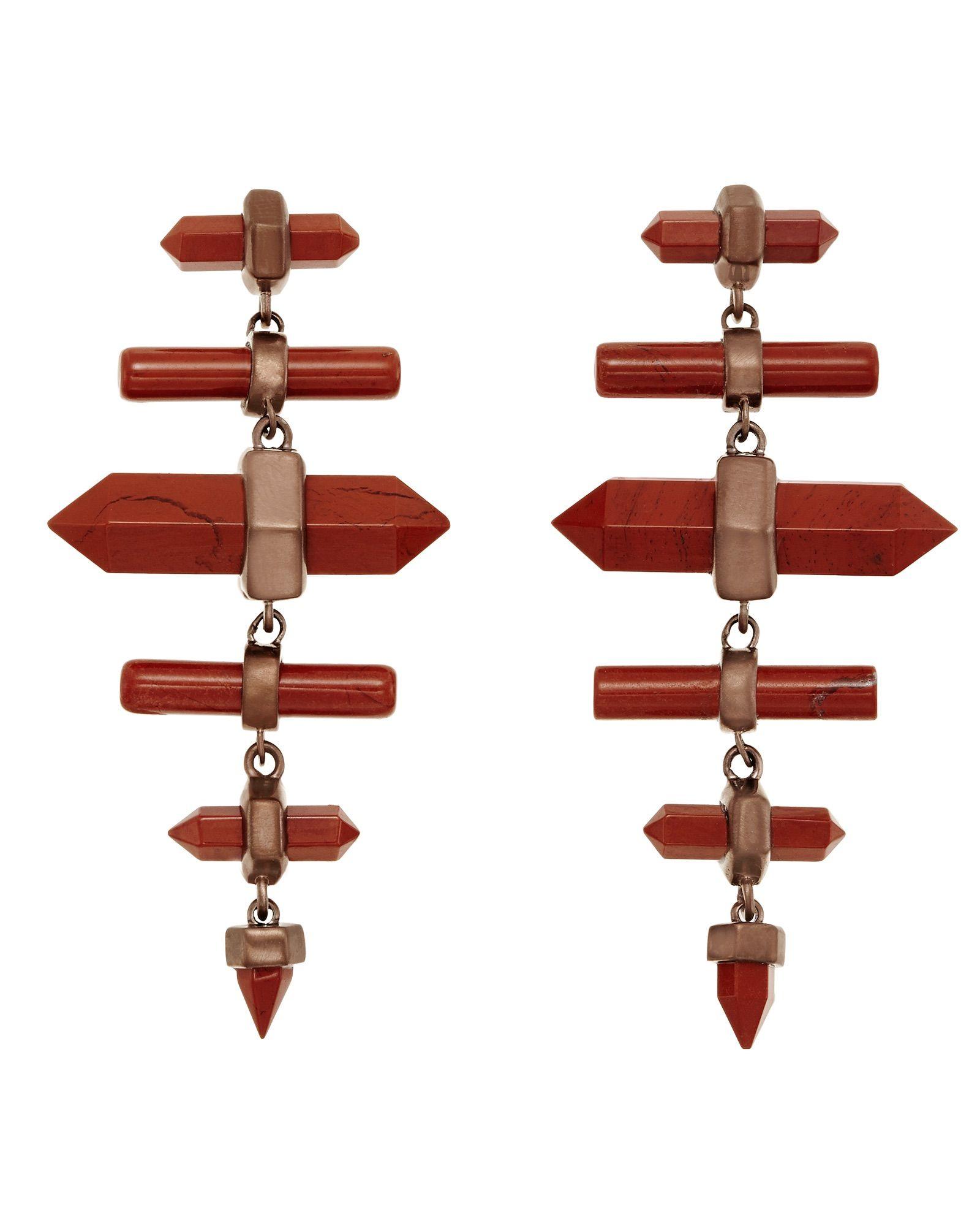Kendra Scott jasper earrings