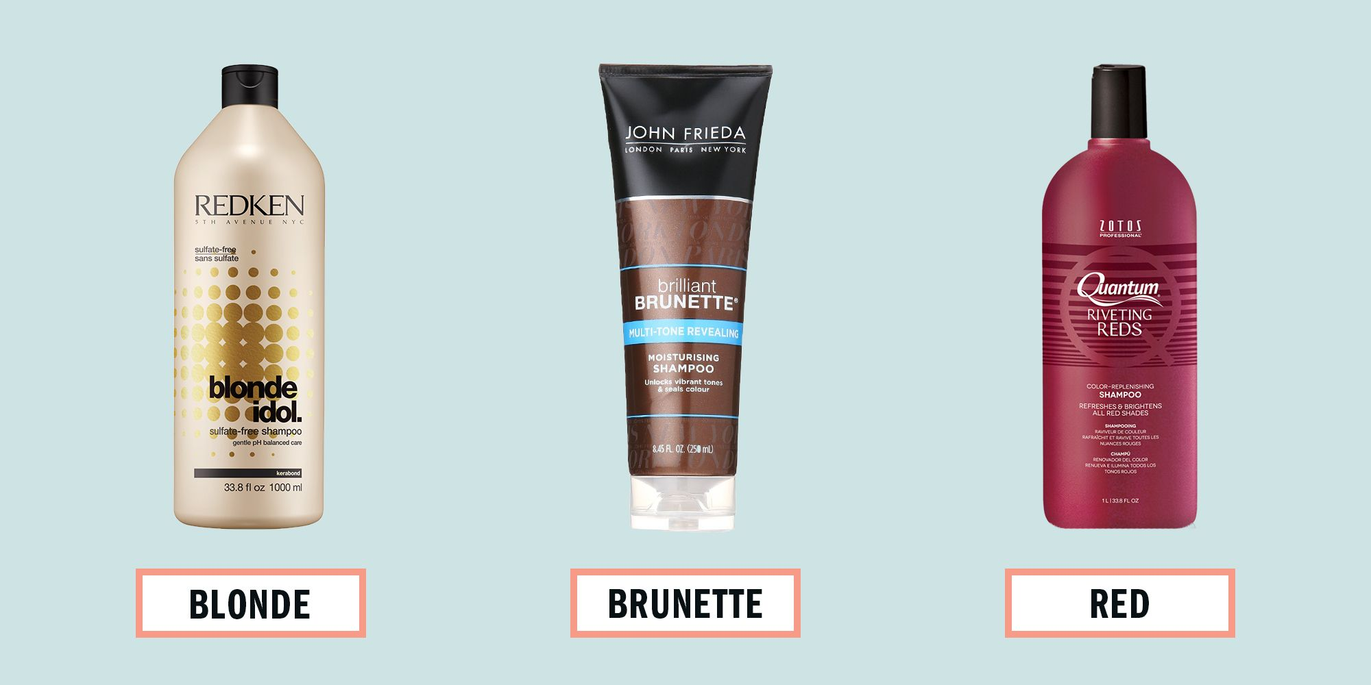 Best Shampoo For Every Hair Color Best Hair Color Shampoos
