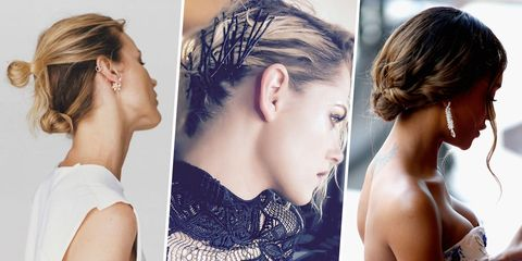 Hair, Ear, Hairstyle, Skin, Forehead, Earrings, Eyelash, Style, Beauty, Fashion,