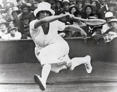 <p>Twenty years before American women could vote, they were allowed to compete in the Olympics, causing <em>quite</em> the stir. (That first year they could only compete in five events: tennis, equestrian, sailing, croquet, and golf, but it was still a pretty huge deal.)</p>