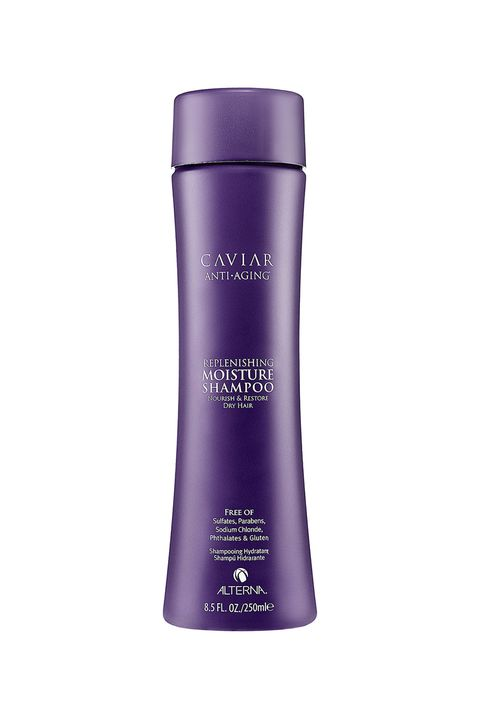 "<p>Make like you're royalty with a shampoo composed of caviar extract and a silky blend of marine botanics. </p><p><strong>Alterna Haircare Caviar Anti-Aging Replenishing Moisture Shampoo, $32; <a href=""http://www.drugstore.com/acure-organics-shampoo-moroccan-argan-stem-cell-argan-oil/qxp387238"" target=""_blank"">sephora.com</a>. </strong></p>"