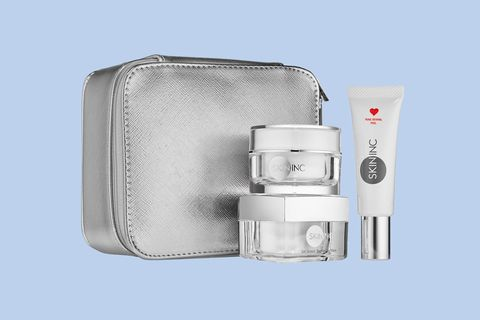 "<p>If you're familiar with the <a href=""http://www.marieclaire.com/beauty/news/a15158/multimasking-beauty-trend/"" target=""_blank"">multi-masking trend</a>, you know that assigning different masks to different parts of you face is the best way to maximize their effects. And Skin Inc. is making things easy-breezy with this set including the Pure Revival Peel to exfoliate and reset your skin's texture as a smooth canvas for makeup, the Brightening Mask for grease-prone areas like the T-zone, and the sleep-in or rinse-off Deepsea Hydrating Mask for dry spots or an all-over thirsty visage.</p><p>Skin Inc. Mask to Perfection, $95; <a href=""http://bit.ly/2ao1TEH"" target=""_blank"">sephora.com</a>.</p>"