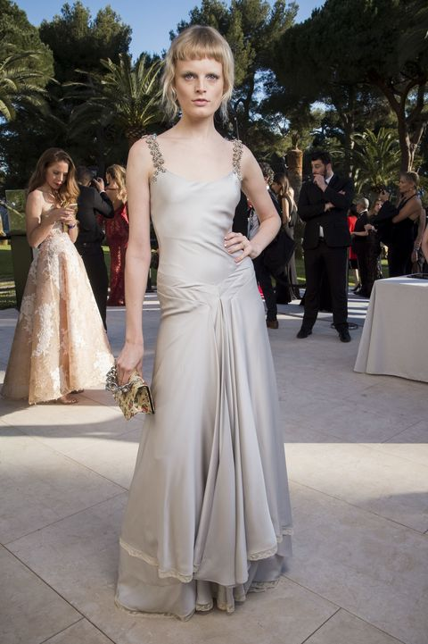 Clothing, Dress, Shoulder, Photograph, Joint, Outerwear, Formal wear, Style, Gown, Beauty,