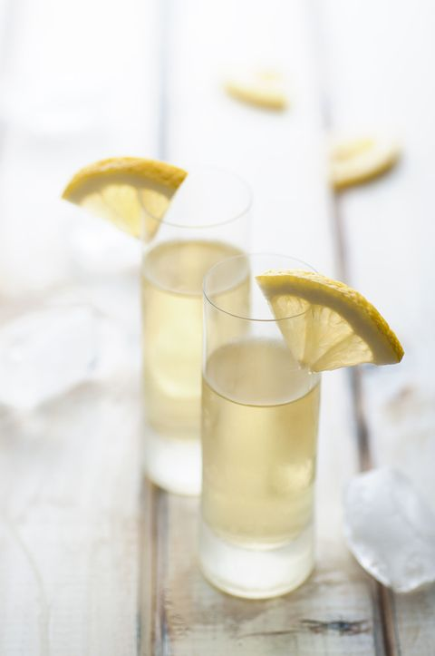 "<p>AKA the <a href=""http://www.foodnetwork.com/recipes/giada-de-laurentiis/limoncello-recipe.html"" target=""_blank"">OG need-to-know recipe</a>. </p><p><strong>Ingredients: </strong></p><p>10 Lemons</p><p>1 (750-ml) Bottle 80-Proof or 100-Proof Vodka</p><p>3 1/2 cups Water</p><p>2 1/2 cups Sugar</p><p><strong>Directions: </strong></p><p>Using a vegetable peeler, remove the peel from the lemons in long strips (reserve the lemons for another use). Using a small sharp knife, trim away the white pith from the lemon peels&#x3B; discard the pith. Place the lemon peels in a 2-quart pitcher. Pour the vodka over the peels and cover with plastic wrap. Steep the lemon peels in the vodka for 4 days at room temperature.</p><p><br>Stir the water and sugar in a large saucepan over medium heat until the sugar dissolves, about 5 minutes. Cool completely. Pour the sugar syrup over the vodka mixture. Cover and let stand at room temperature overnight. Strain the limoncello through a mesh strainer. Discard the peels. Transfer the limoncello to bottles. Seal the bottles and refrigerate until cold, at least 4 hours and up to 1 month.<br></p>"