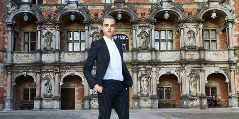 Dress shirt, Collar, Sleeve, Standing, Style, Formal wear, Street fashion, Suit trousers, Blazer, Pocket,