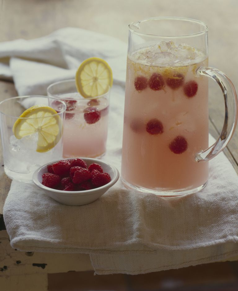 "<p>A <a href=""http://www.food.com/recipe/raspberry-lemoncello-sparkling-sangria-229686"" target=""_blank"">*sparkling* sangria</a> that's sure to be a crowd-pleaser at parties. </p><p><strong>Ingredients:</strong></p><p>1cup Raspberries</p><p><a href=""http://www.food.com/about/raspberry-287""></a>1 Lemon, zest of</p><p><a href=""http://www.food.com/about/lemon-125""></a>3 fluid oz. Pink Lemonade</p><p>2 fluid oz. Lemon-Flavored Liqueur</p><p>1(750 ml) Bottle Sparkling Wine</p><p>3 cups Ice Cubes</p><p><strong>Directions:</strong></p><p><strong></strong>In a large glass pitcher, mix together the raspberries, lemon zest, lemonade, and Limoncello. Refrigerate for about two hours.When ready to serve, slowly add the sparkling wine, stir gently. Fill glasses with ice cubes and slowly pour sangria over the ice, allowing raspberries to fall into the glasses.</p>"