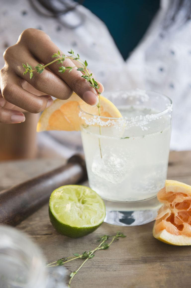 "<p>A refreshing summer <a href=""http://www.caravellaus.com/caravella.html#cocktail"" target=""_blank"">pick-me-up</a>.</p><p><strong>Ingredients: </strong></p><p>2 oz. Corazón Tequila </p><p>½ oz. Caravella Limoncello<span class=""redactor-invisible-space""><br></span></p><p><span class=""redactor-invisible-space"">6 oz. Grapefruit Soda </span></p><p><span class=""redactor-invisible-space""><strong>Directions: </strong></span></p><p><span class=""redactor-invisible-space"">Fill a glass with ice, Corazón Tequila, and Caravella Limoncello. Top with grapefruit soda. Rim with salt if desired, and garnish with a grapefruit slice and sprig of thyme.<span class=""redactor-invisible-space""><br></span></span></p>"