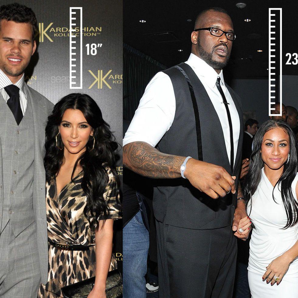 Most mismatched couples