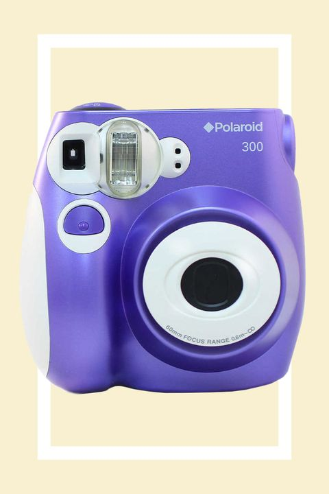 """<p>An updated version of the snap-and-print camera your parents came to love, with super sharp color and four scene settings to help you shoot during the day and at night without sacrificing image quality. </p><p><strong>Polaroid 300 Instant Camera, $80; <a href=""""http://www.target.com/p/polaroid-300-instant-camera/-/A-15038567"""" target=""""_blank"""">target.com</a>. </strong></p>"""
