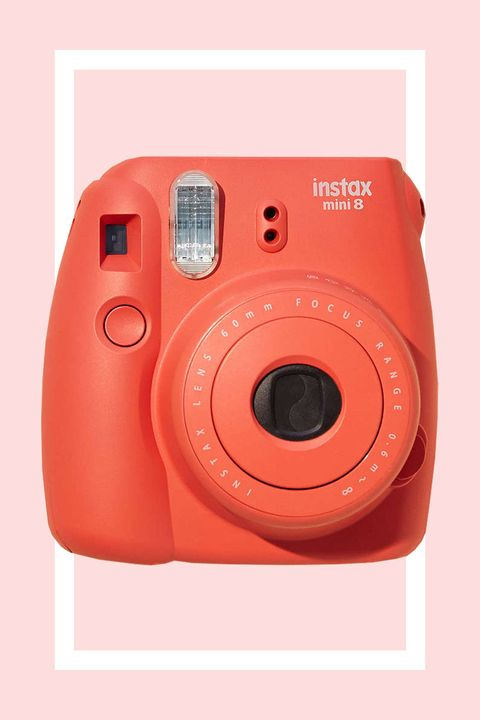"""<p>The newest of Fujifilm's rainbow assortment of cameras is super portable and easy to grip in your hands. Plus, the primo photo quality is not so shabby for a camera under $100.</p><p><strong>Fujifilm Instax Mini 8 Instant Camera, $70; <a href=""""http://www.urbanoutfitters.com/urban/catalog/productdetail.jsp?id=27913557&category=APARTMENT_MEDIA"""">urbanoutfitters.com</a>. </strong></p>"""