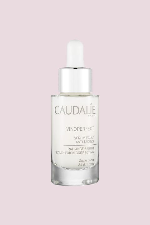 "<p>This lovely-smelling, oil-free serum has a high concentration of viniferine, a natural, active ingredient extracted from grapevine sap that's been proven to be 62 times more effective than Vitamin C when it comes to fighting dark spots and boosting radiance. </p><p><strong><br></strong></p><p><strong>What one woman said:</strong> ""After using up the first bottle of Caudalie and onto my second, my post-acne scars have faded tremendously and my skin tone is A LOT better than before. This serum makes my skin glow, [and] it looks especially good after I wake up in the AM.""—<a href=""http://www.sephora.com/vinoperfect-radiance-serum-P94421"" target=""_blank"">PrimpingPrincess, L.A.</a></p><p><br> </p><p><br></p><p>Caudalie Vinoperfect Radiance Serum, $79; <a href=""http://bit.ly/2bjavtm"" target=""_blank"">sephora.com</a>.<br></p>"