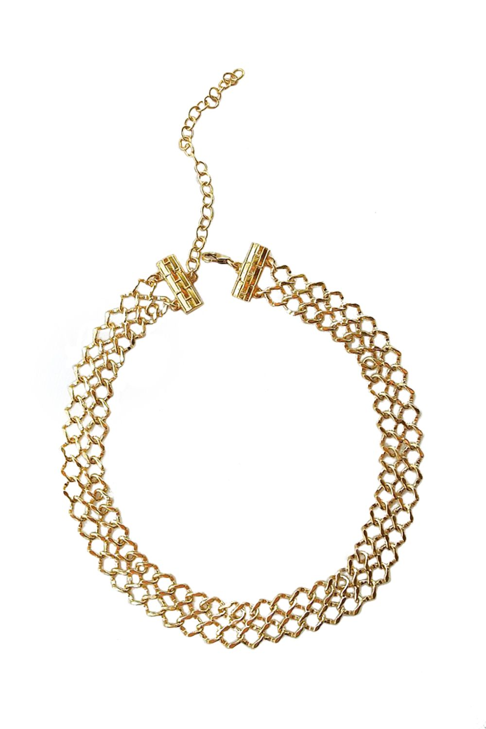 """<p>Typically, we go for something a bit more original than aping celebrity style, but we'd gladly make an exception for this chain mail number, worn by everyone from Chrissy Teigen to half the Kardashians. </p><p>$99, <a href=""""http://www.liliclaspe.com/collections/chokers/products/lana-choker?variant=1117059001"""" target=""""_blank"""">liliclaspe.com</a>.</p>"""