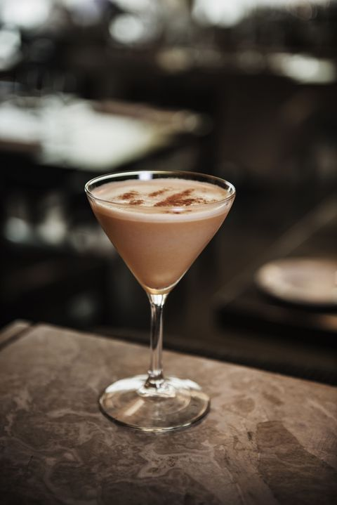 "<p>Satisfy your sweet tooth <a href=""http://wholeandheavenlyoven.com/2015/12/31/easy-chocolate-caramel-espresso-martini/"" target=""_blank"">in drink form</a>. </p><p><strong>Ingredients: </strong> </p><p>2 oz. Caramel-flavored Vodka </p><p>2 oz. Kahlua Liqueur </p><p>2 oz. Espresso </p><p>2 oz. Heavy Whipping Cream </p><p>Ice Cubes, for chilling </p><p>2 Tblsp. Coconut Sugar (or brown sugar) </p><p><strong>Directions: </strong> </p><p><strong></strong>In a small measuring glass, mix vodka, Kahlua, espresso, and cream until combined. Place in a shaker with ice cubes and shake until mixture is completely chilled. Discard ice cubes. Pour chilled espresso mixture into glasses and enjoy immediately!</p>"