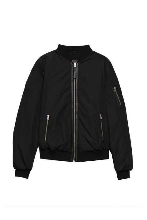 "<p>If you want a bomber you can pass onto your daughter 25 years from now when it's 2016 again just like it's the '90s again *now,* this one's a good bet. </p><p>$350, <a href=""http://us.aritzia.com/product/cara-jacket/59754.html?dwvar_59754_color=1274"" target=""_blank"">us.aritzia.com</a>.</p>"